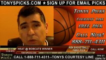 Charlotte Bobcats versus Miami Heat Pick Prediction NBA Pro Basketball Odds Preview 12-26-2012