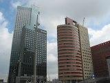 Rotterdam, Pays-Bas : beaux gratte ciel