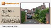 A vendre - maison - Hem (59510) - 8 pièces - 170m²