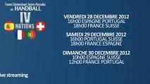 Live Handball : Tournoi des IV Nations Juniors à Créteil