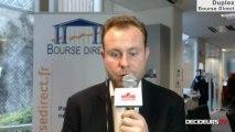 """27/12 : Les Experts de Bourse Direct dans l'émission """"Duplex Bourse"""" sur Décideurs TV"""
