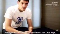 Iker Casillas, protagonista de la nueva campaña solidaria de BBVA