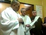 Misa de Gallo del dia 24 de diciembre de 2012, Bendecir los ninos Jesus que tenemos en nuestras casas
