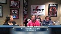 Liz Carmouche on MMAjunkie.com Radio