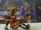 Trish Stratus  Candice Michelle vs Mickie James  Victoria