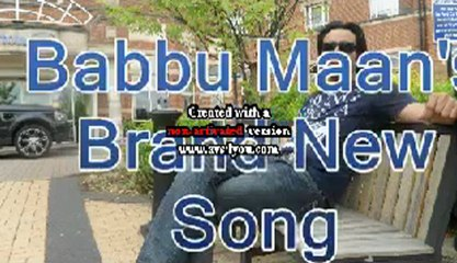 Babbu Maan brand new song KABOOTRI from his upcoming film DESI ROMEOS