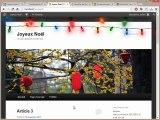 Tutoriel CSS : guirlandes de Noël avec css effet parallaxe