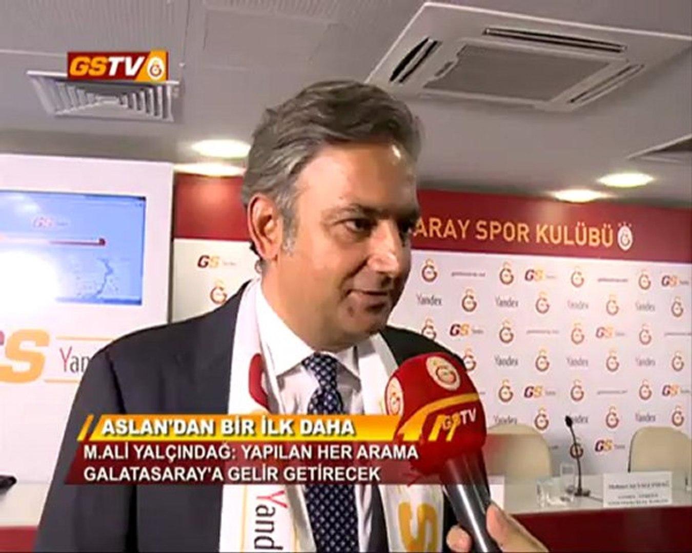 BİLGİ | Galatasaray ve Yandex Dünyada Bir İlke İmza Attı