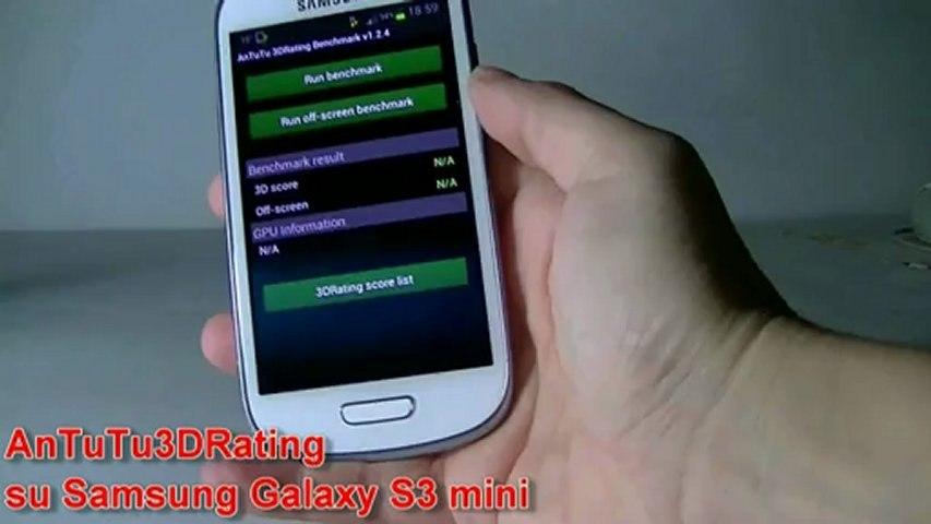 Performance grafiche del Samsung Galaxy S3 Mini