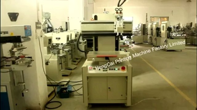 Flat Bed Screen Printing Machine,Screen Printer,Bag Screen Printer
