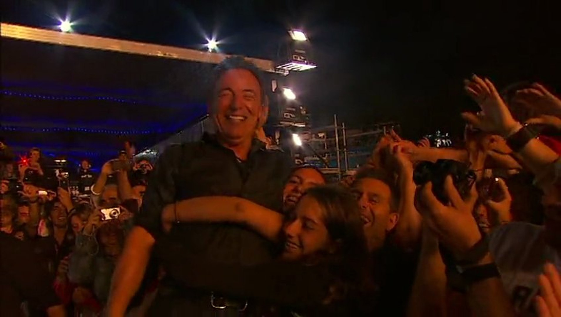 hungry heart - rock in rio 2012 pro shot - bruce springsteen