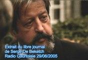 Serge de Beketch VS Ruquier