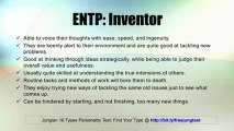 ENTP: Inventor -- Jung 16 Personality Types Test Results