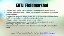 ENTJ: Fieldmarshal -- Jung 16 Personality Types Test Results