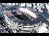Napoli - Il restyling dello stadio San Paolo (29.12.12)