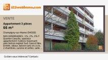A vendre - appartement - Champigny-sur-Marne (94500) - 3 pi