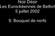 09.Bouquet de nerfs - Noir Désir aux Eurockéennes de Belfort le 5 juillet 2002