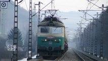 Lokomotiva 130 036-7 a 162 118-4 - Ústí nad Orlicí, 30.12.2012 HD