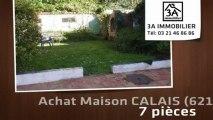A vendre - maison - CALAIS (62100) - 7 pièces