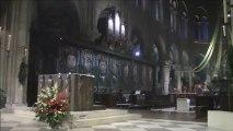 L'orgue de Notre Dame de Paris - Messe de minuit du 24 décembre 2012