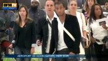 PSG : la star brésilienne Lucas Moura a rejoint ses coéquipiers