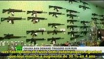 RT. Explosion des ventes d'armes aux USA  S/T