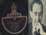 Der treue Husar Robert Koppel Drei Musketiere Odeon Militär Orchester mit Gesang