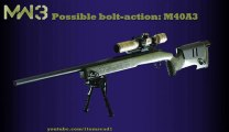 MW3 Guns - Possible BOLT-ACTION SNIPERS - M40A3 (MW3 Weapons/ MW3 Snipers)
