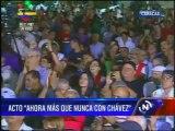 Ministro Villegas asegura que Chávez sigue por televisión actos por su salud