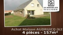A vendre - maison - AUDRUICQ (62370) - 4 pièces - 157m²