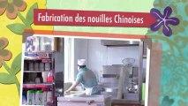 Préparation des nouilles chinoises