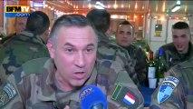 Les soldats français réveillonnent en Afghanistan