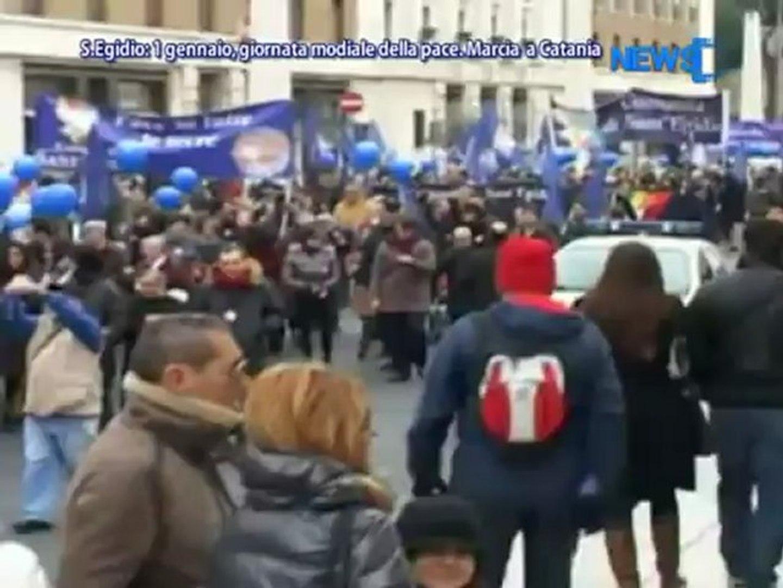 S.Egidio: 1 Gennaio, Mondiale Della Pace. Marcia A Catania - News D! Television TV