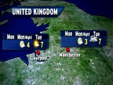 UK Weather Outlook - 01/01/2013