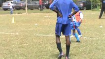 premier tournois de foot de Mahé