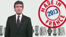 """Les voeux """"made in France"""" d'Arnaud Montebourg"""