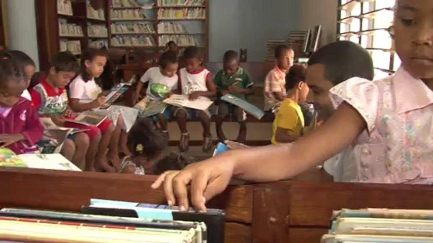 Charles et l'Espace Volontariats à Madagascar