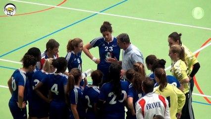 ASV TV - Tounoi Handball Georges ILTIS 2012 - Match France vs Roumanie