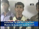 Six Maoists arrested in Chhattisgarh.mp4