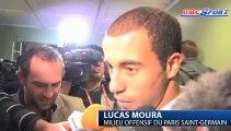 """Ligue 1 / PSG - Moura: """"Je me suis bien amusé"""""""