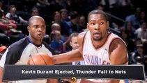 Kevin Durant Ejected, Heat Top Mavericks