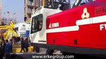 ERKE Vinç, Fuwa FWX-85 Paletli Vinç - Bauma China 2012