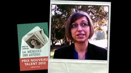 Rencontre avec l'auteur Annelise Corbrion, lauréate du Prix Nouveau Talent 2012