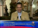 Ministro Villegas: Chávez sufre insuficiencia respiratoria tras severa infección pulmonar