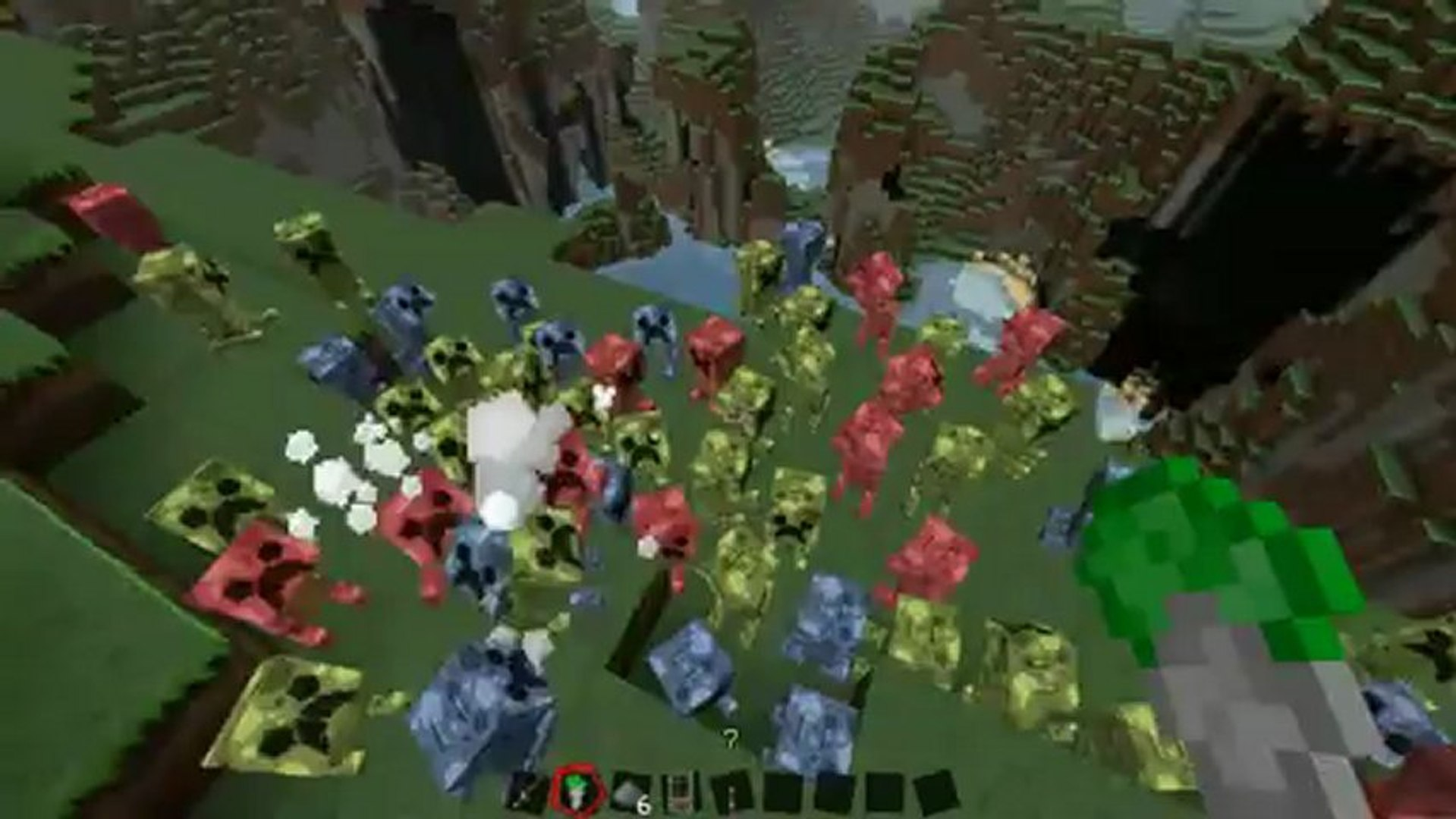 Minecraft Mods - Baby Creeeper Pets Mod | Minecraft DumberMods