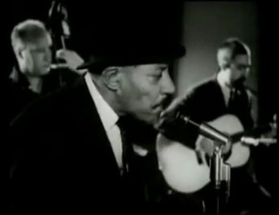 Memphis Slim and Sonny Boy Williamson blues legende live in Europe
