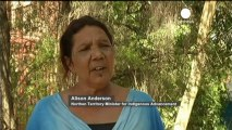 "Australian ""ghost gum"" trees in suspected arson attack"