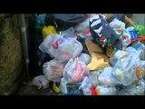 Aversa (CE) - Minidiscarica quotidiana in Via De Chirico (04.01.13)
