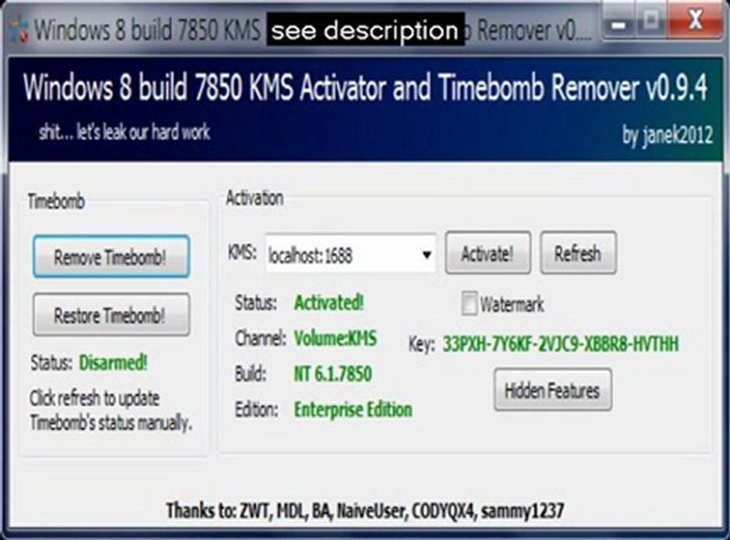 BAIXAR BUILD ATIVADOR WINDOWS 9200 8 DO ENTERPRISE