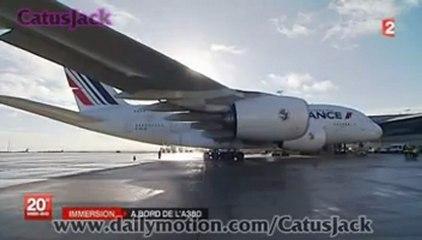 Immersion : A bord de l'A 380 Le plus gros avion civil du monde ... [04-01-2013]